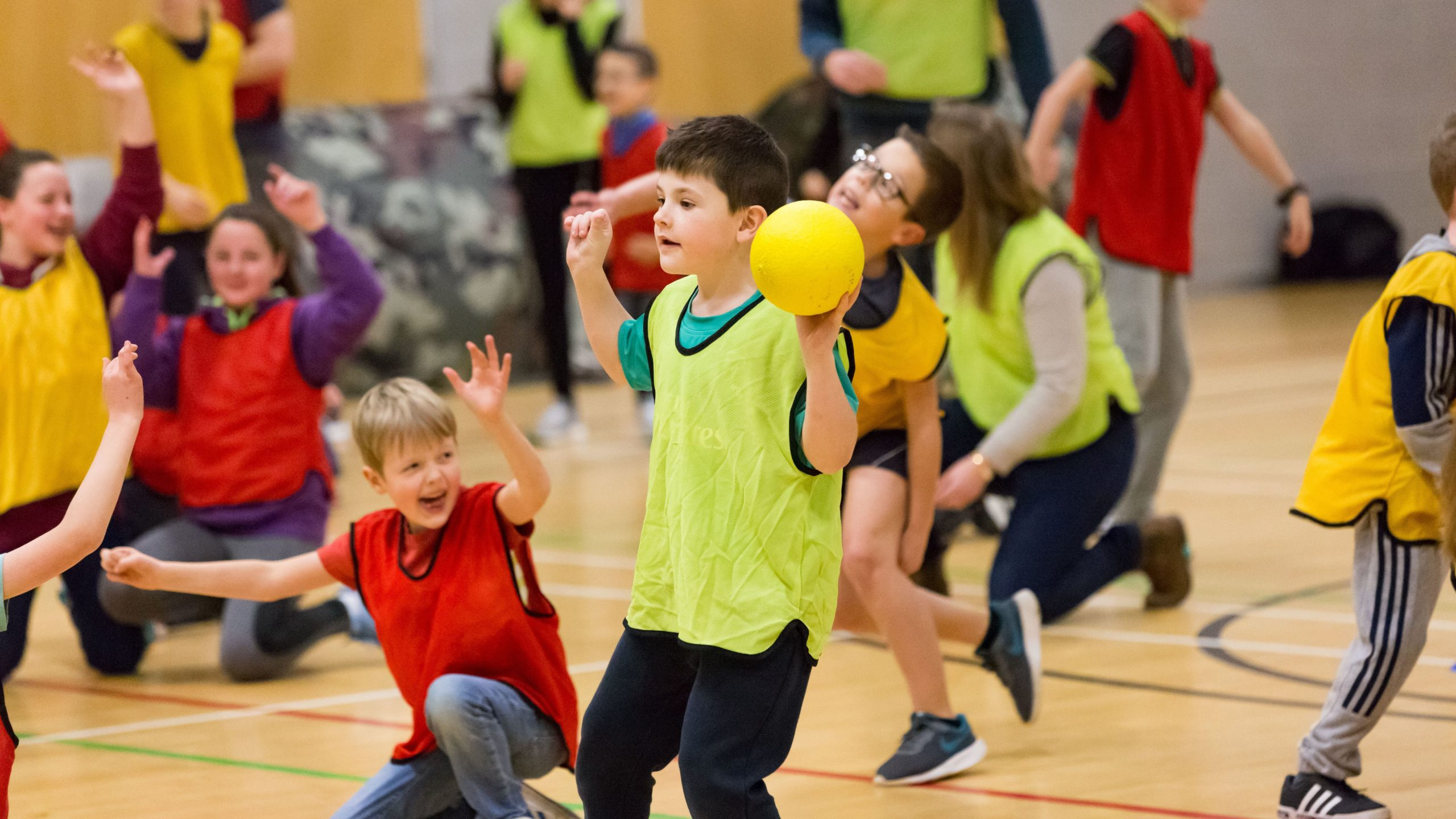 Dodgeball Party at Malden Leisure Centre