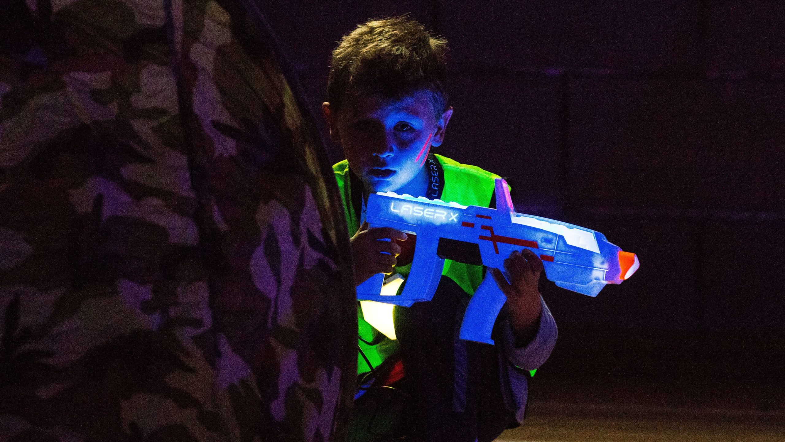 Laser Tag Party at Tooting Leisure Centre