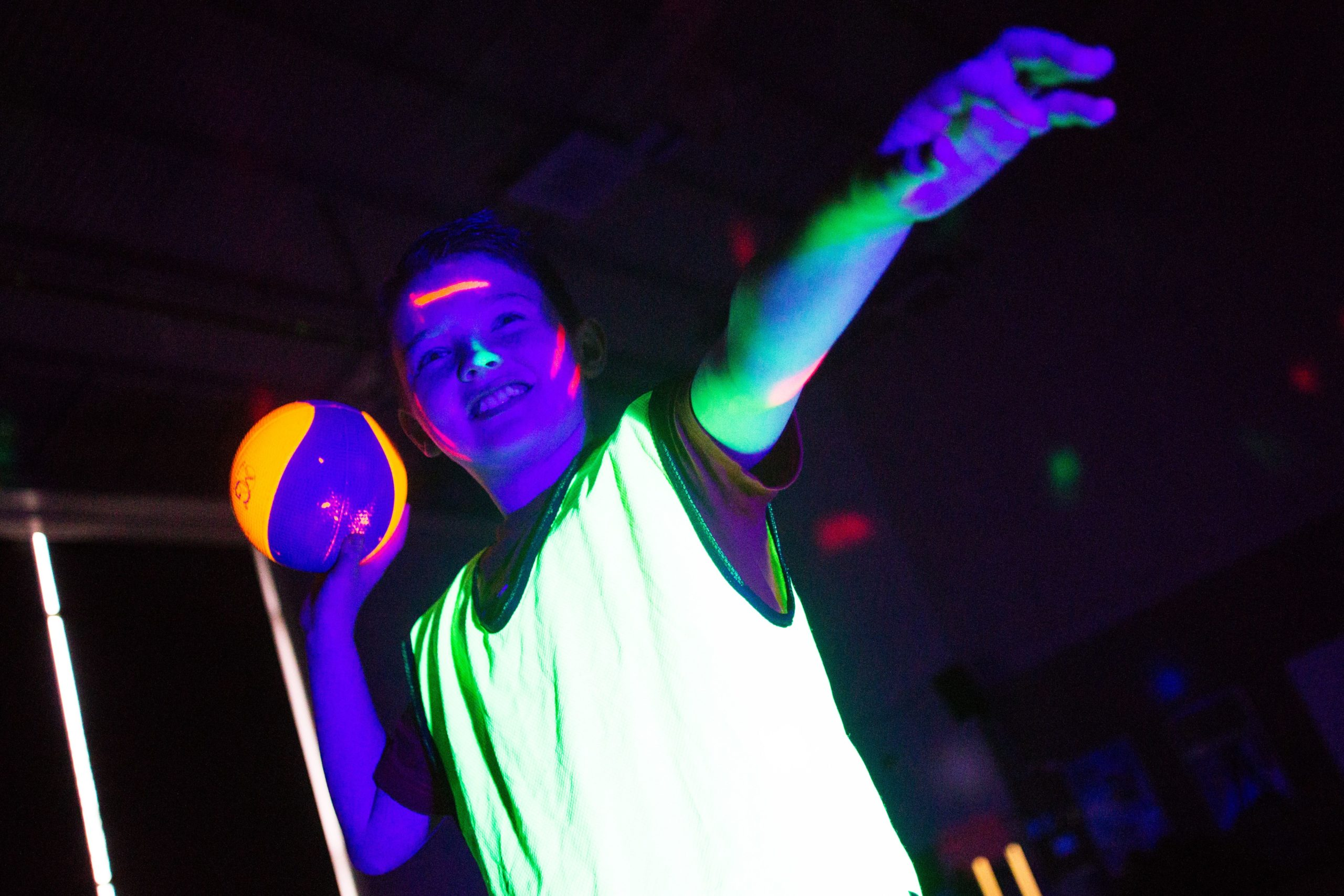 Disco Dodgeball Party at Tooting Leisure Centre