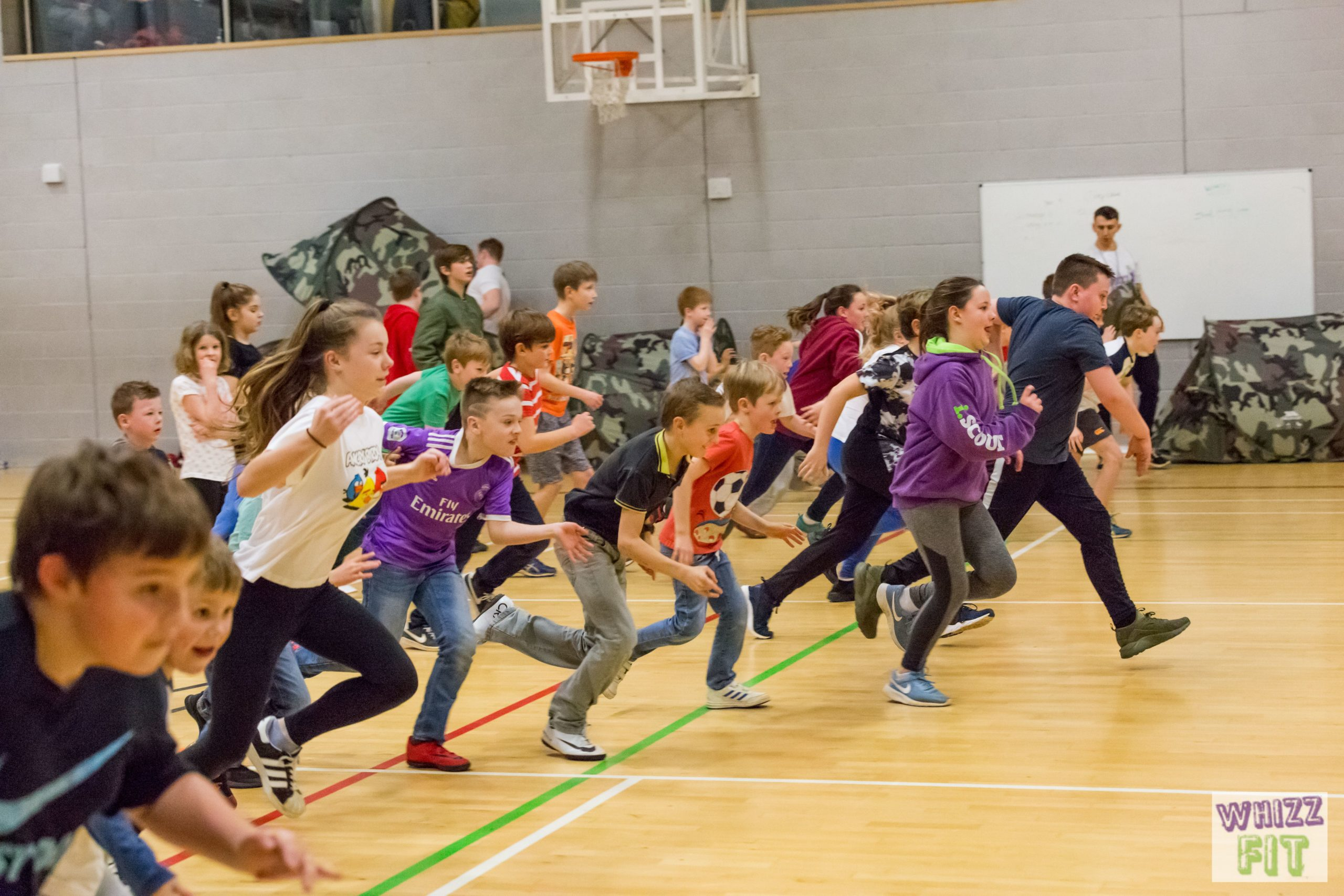 Free WhizzFit Club Session with Lucy at Esher Church School