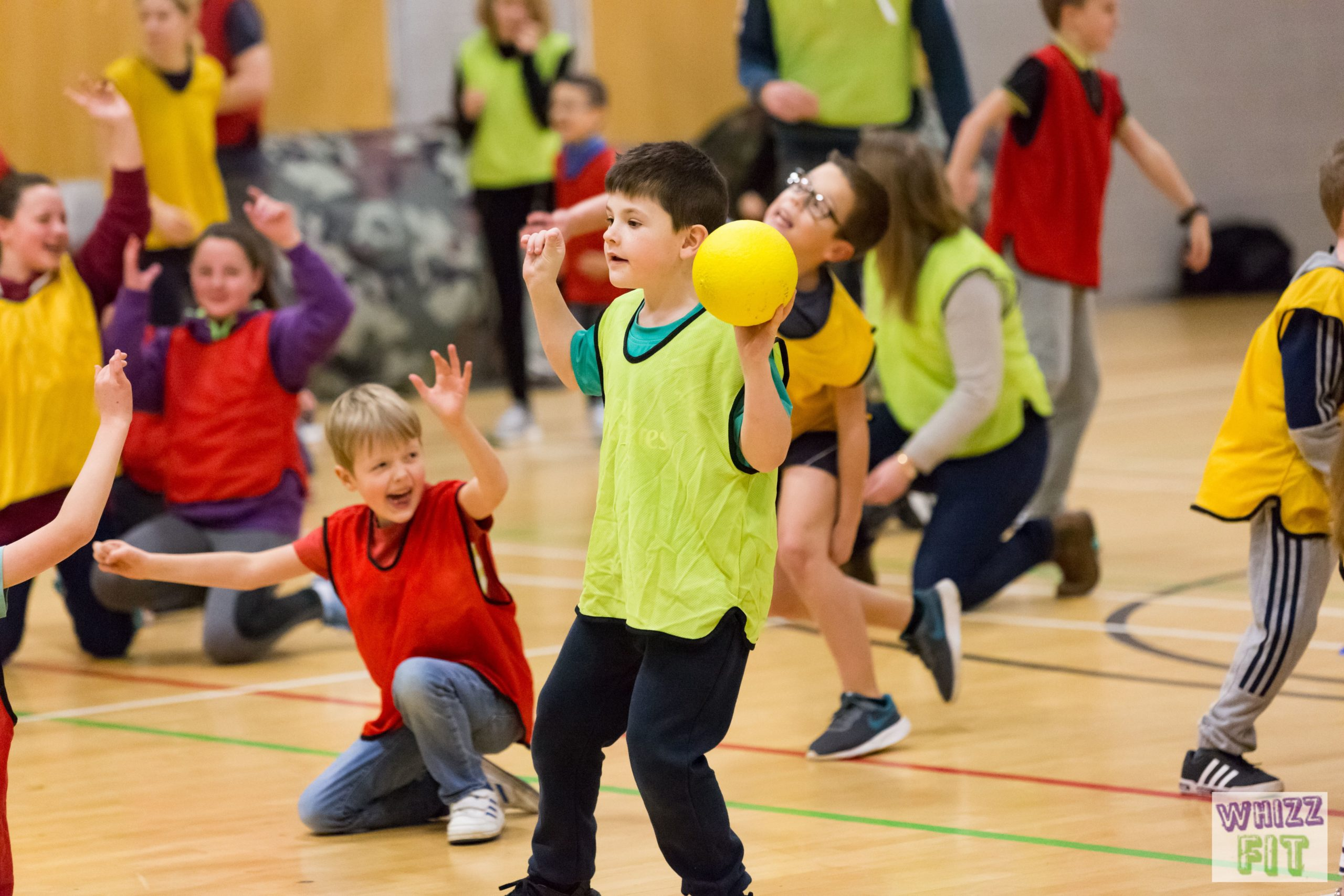 Dodgeball Party at Esher Church School