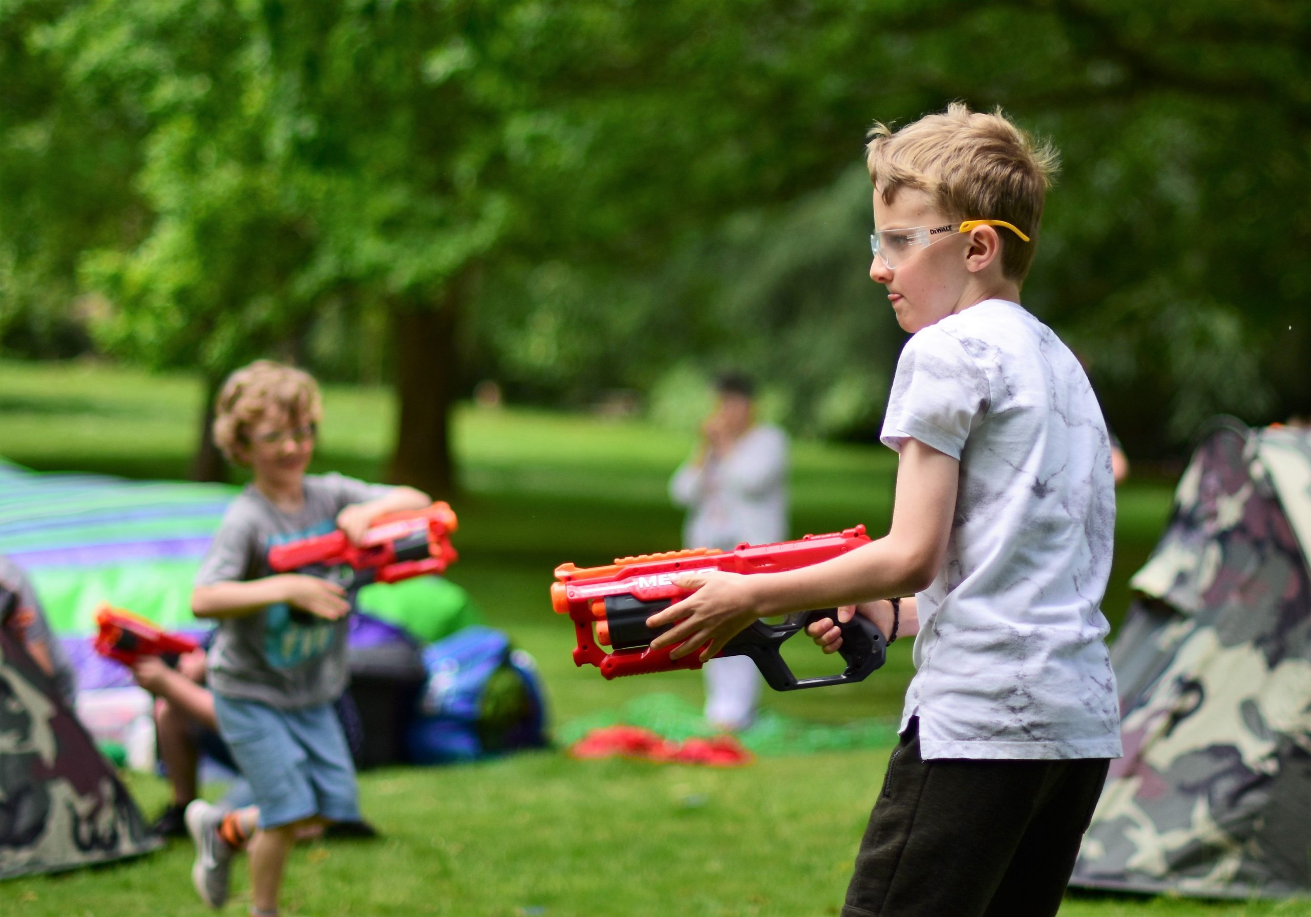 Nerf Wars Party with Jamie – Mobile / Customer Venue