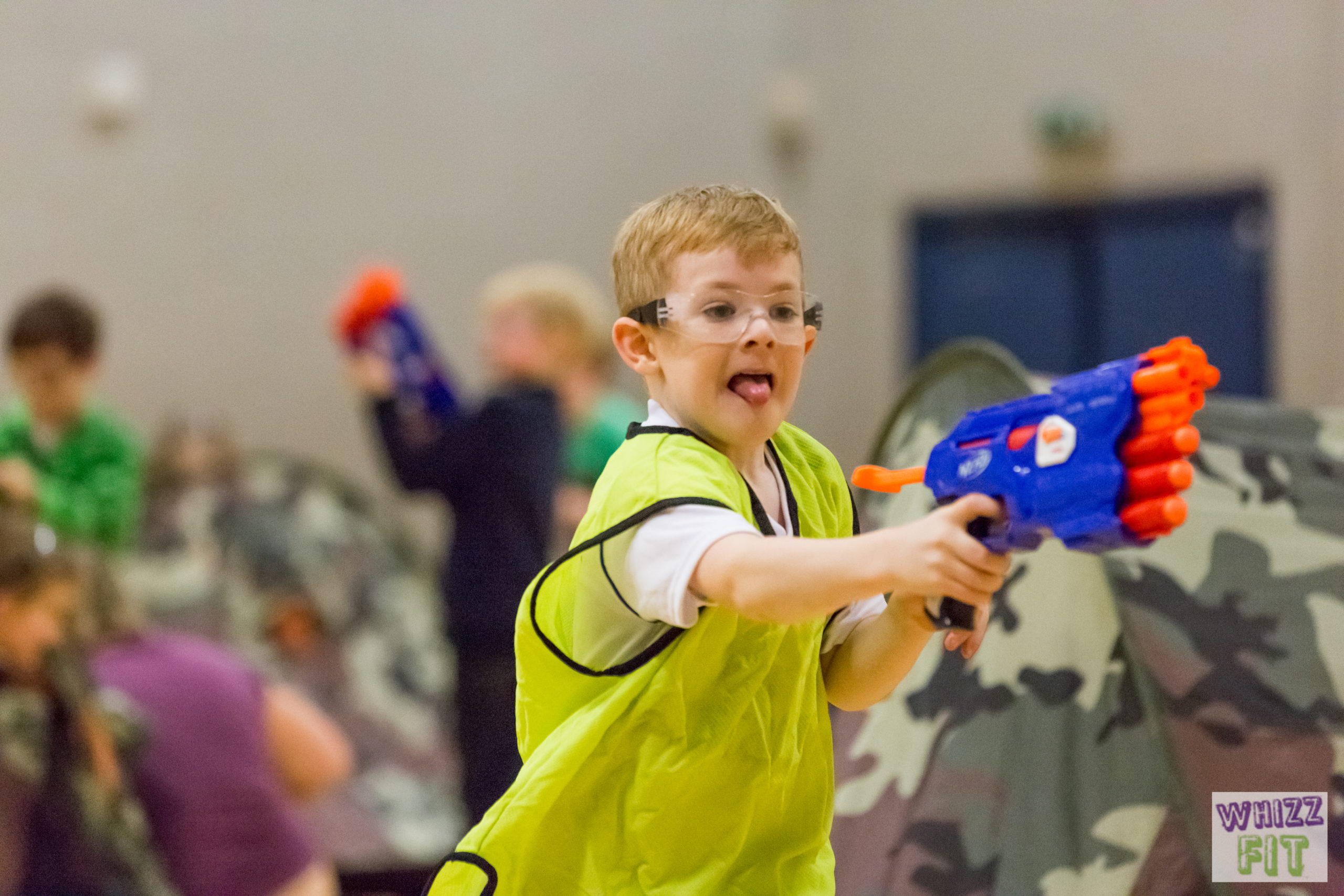 Nerf Wars Party at Tooting Leisure Centre