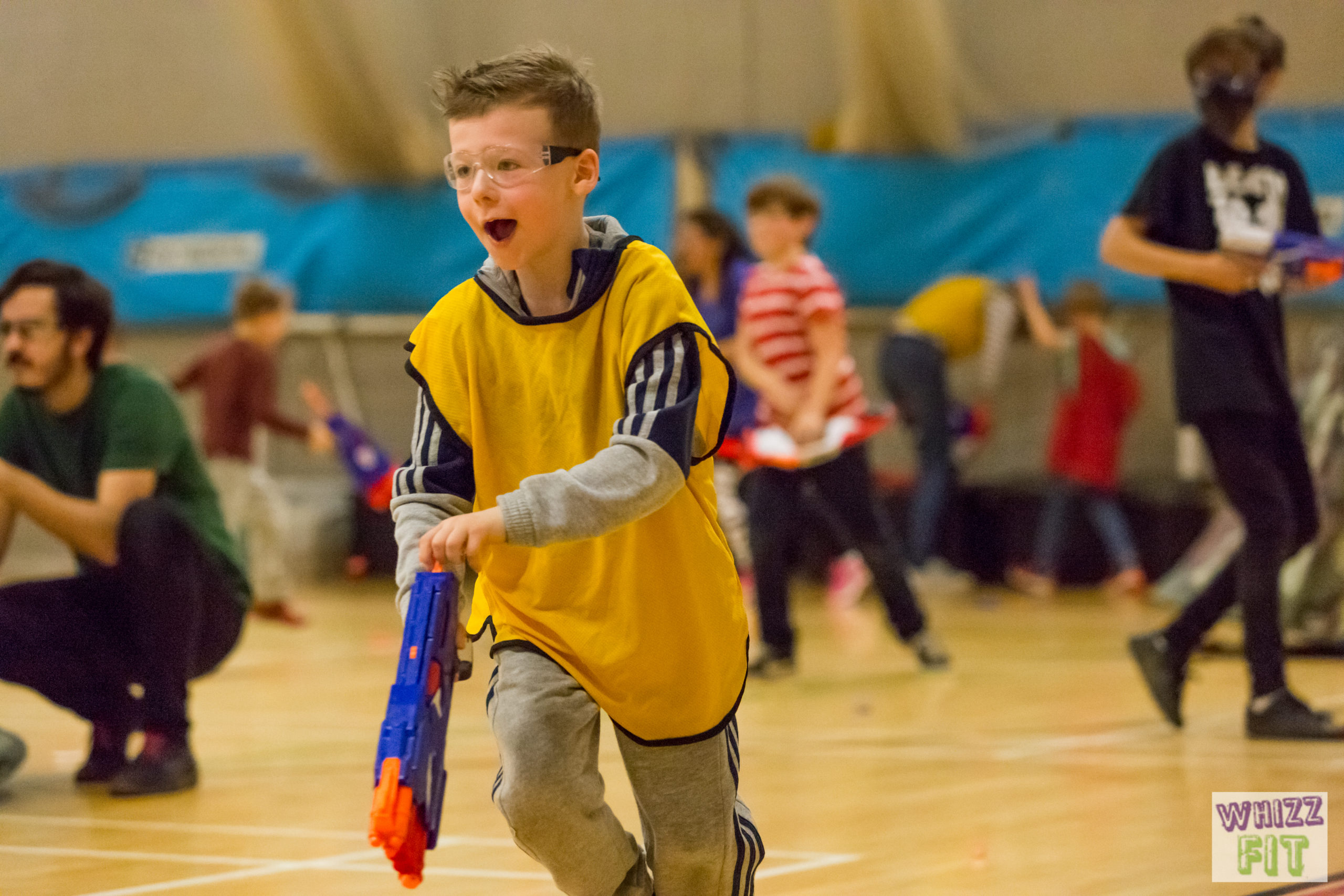 Nerf Wars Party at New Malden Leisure Centre